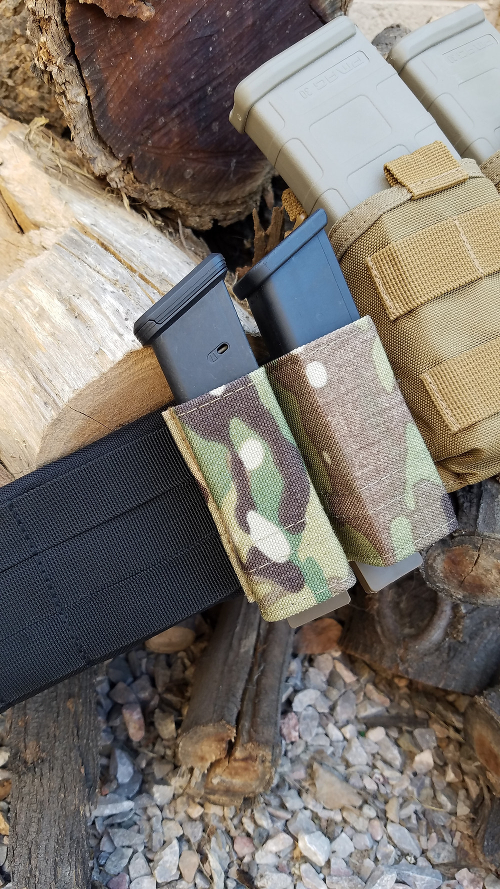 Esstac Kywi Double Pistol Mag Carrier