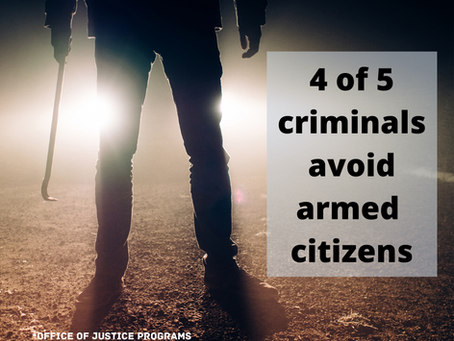 Criminals More Afraid of Armed Citizens Than Police