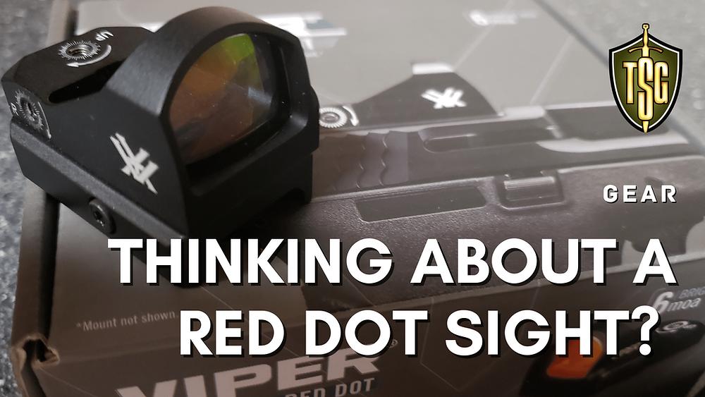 Photo of Vortex Viper handgun red dot sight 6 MOA.