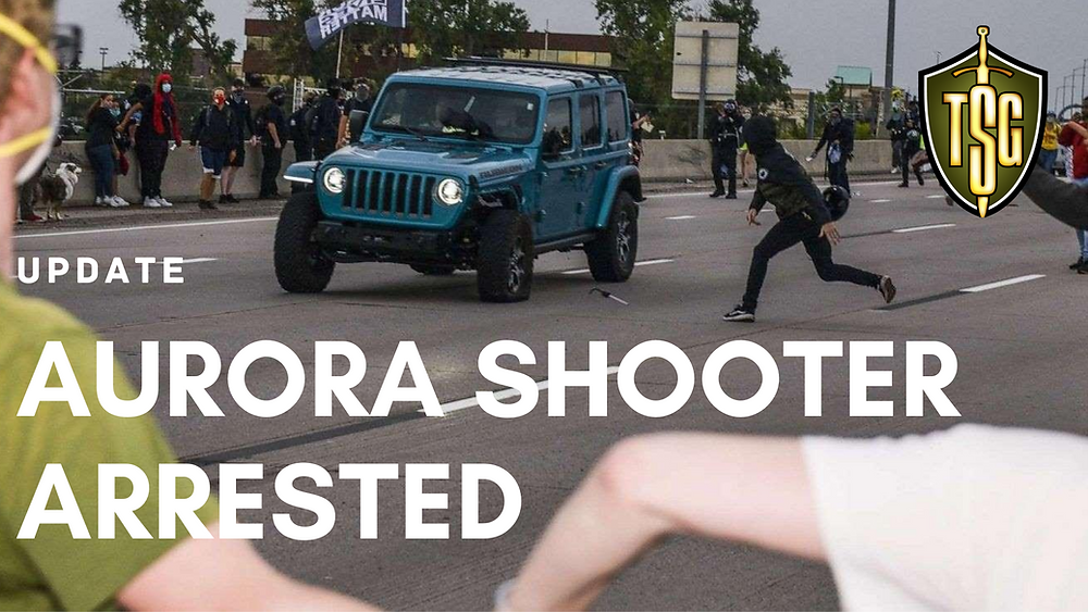 Aurora protest jeep attacked on freeway