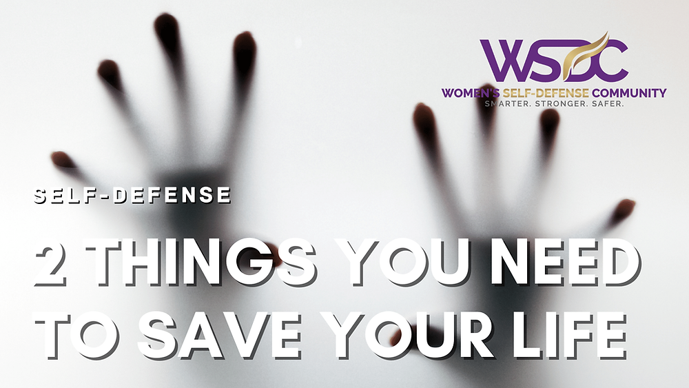 """hands with headline """"2 Things You Need to Save Your Life"""""""