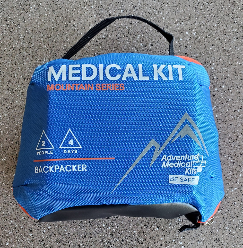 adventure medical backpacker first aid kit