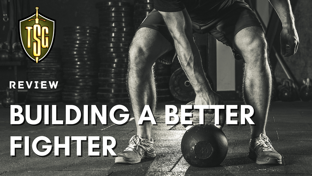 athlete training with kettlebell for conditioning to be a better fighter