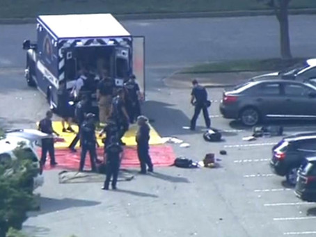 Virginia Beach Shooting Police Radio Traffic