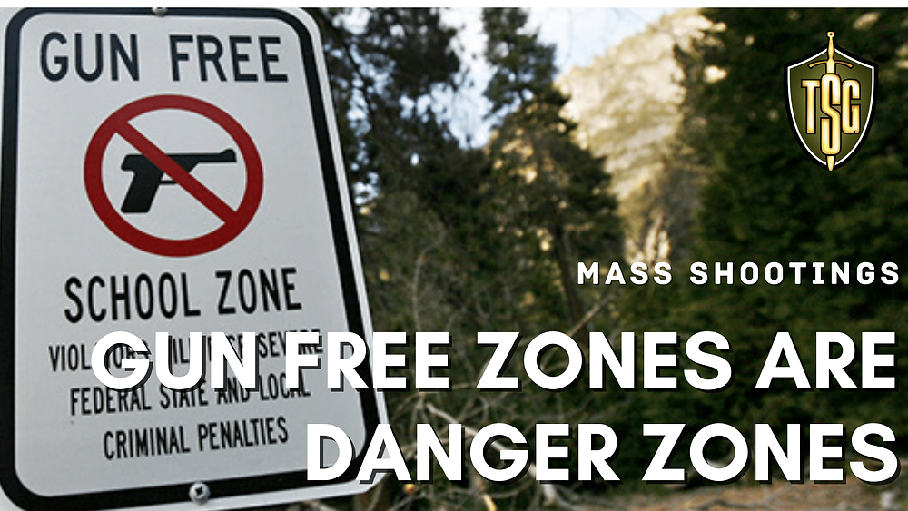 Sign with Gun Free School Zone