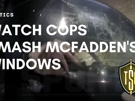 Watch: Cops Smash Darren McFadden's Windows