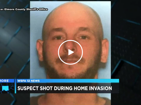 Home Invasion Suspect Shot 4 Times by Young Father