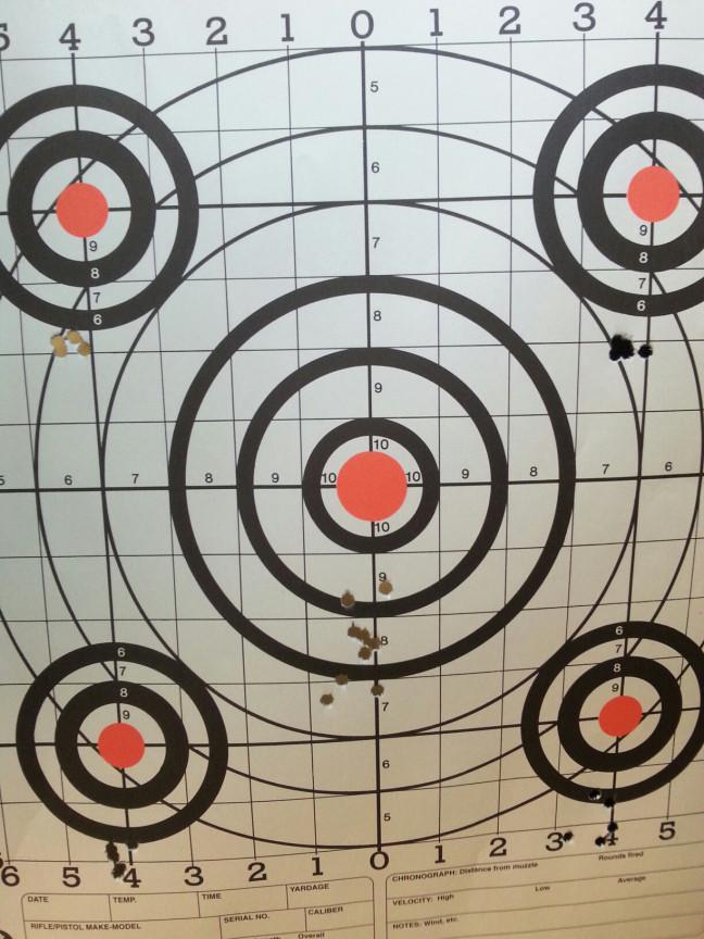 "1"" Grid Targets"