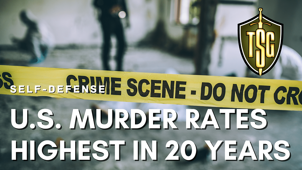 crime scene for U.S. murder rates