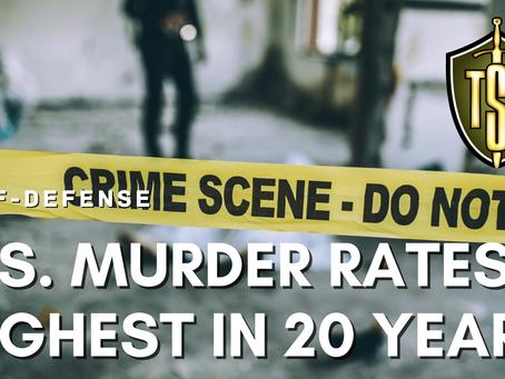 Self-Defense: Skyrocketing Murder Rate Highest in 20 Years