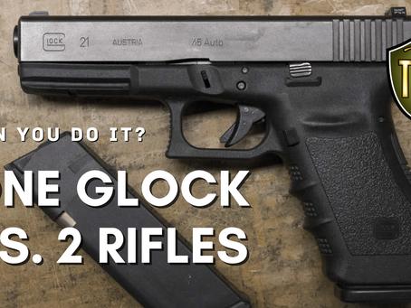 Handgun vs. 2 Rifles: What We Can Learn for Self-Defense?