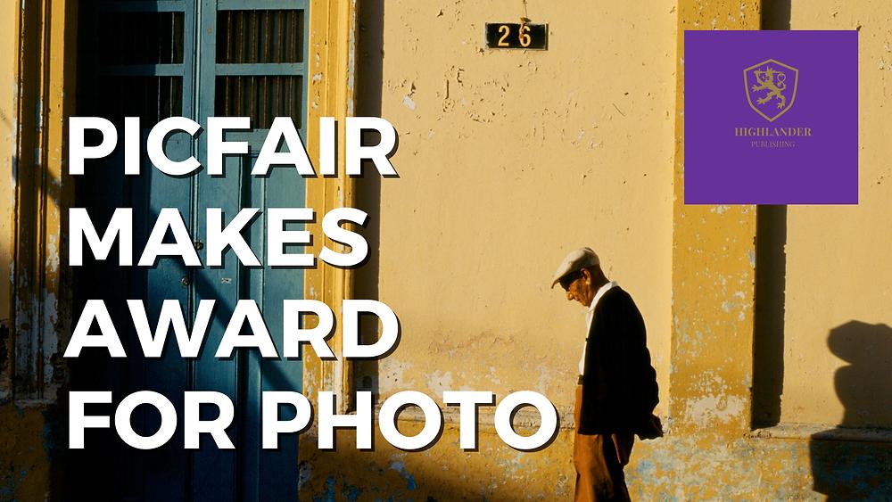elderly man walking in the early morning in Cozumel, Mexico