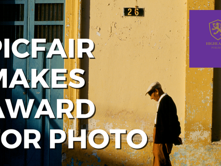 PicFair Awards Star for Photo