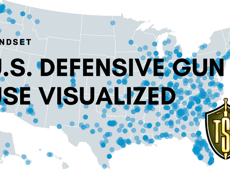 Citizens Use Guns for Self-Defense up to 3 Million Times a Year