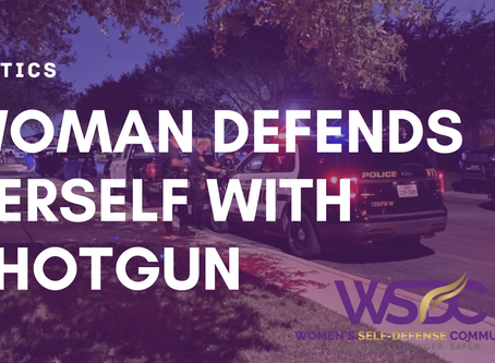 Woman Defends Herself with Shotgun