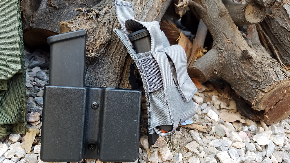 Kydex and Nylon Mag Carriers