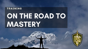 Photo of man on the road to mastery