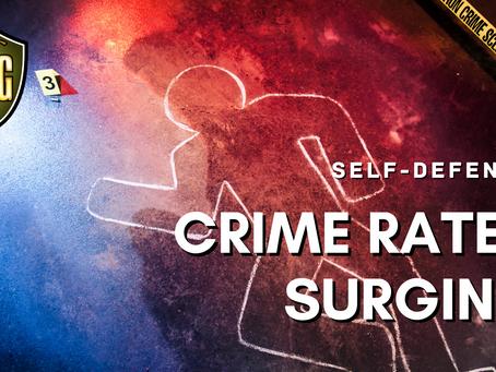 Violent Crime Rates Surging