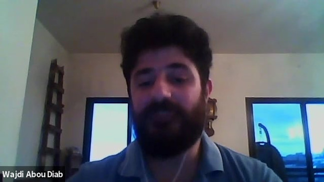 Wajdi talks about his process for composition