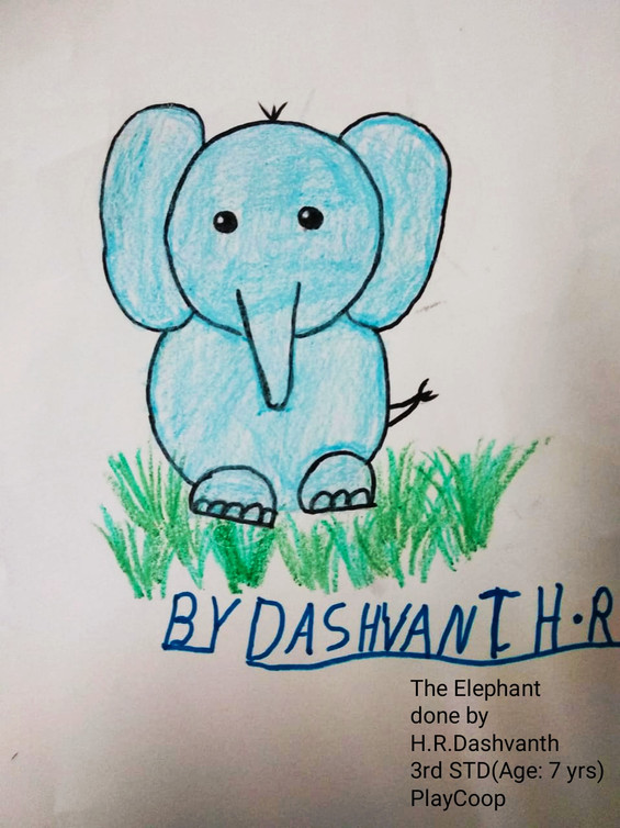 Dashvanth R. (aged 7) from Chennai, India