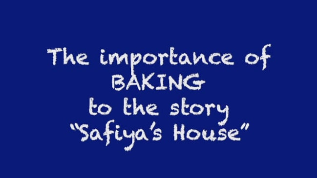 The importance of baking to the story