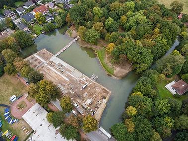 Luftbild Landschaftsbau-Projekt