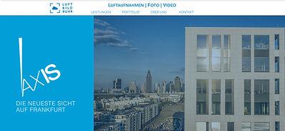 Screenshot Luftbild Ruhr Homepage