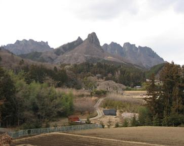 金鶏山(冬)