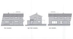 West Street Wrotham House Build Plan Elevations
