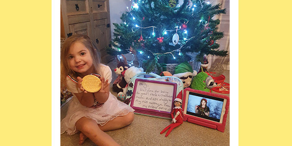 'Surjoying' the first Christmas without Mum
