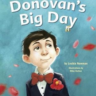 Donovan's Big Day by Lesléa Newman (L)