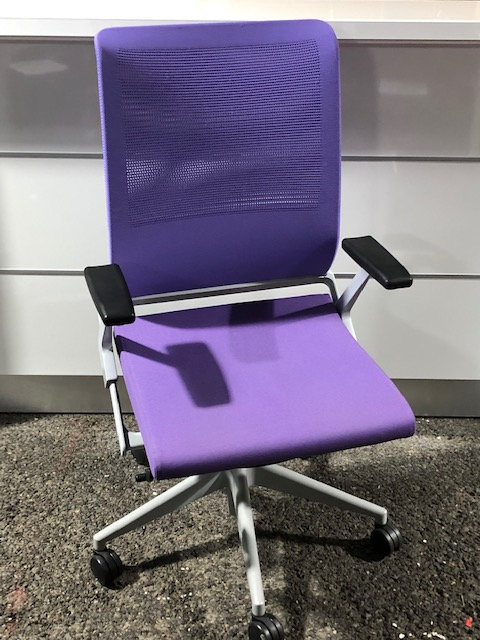 Fauteuil Synchrone Violet