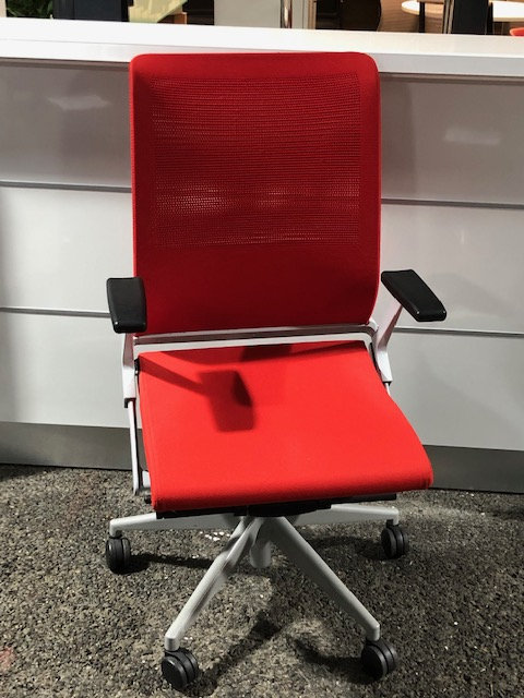 Fauteuil Synchrone Rouge