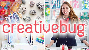 Creativebug is a free video resource available through the Arrowhead Library System.