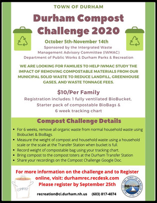 The Durham Compost Challenge