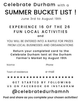 The Bucket List Challenge