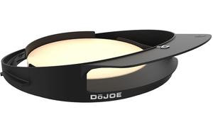 Black DoJoe pizza oven insert for Kamado Joe grill