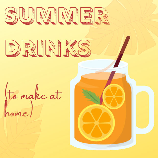 7 Refreshing Summer Drinks to Make at Home