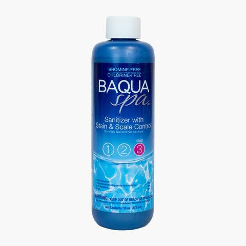 Baqua Spa Sanitizer with Stain + Scale Control
