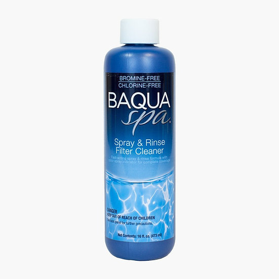 Baqua Spa Spray + Rinse Filter Cleaner
