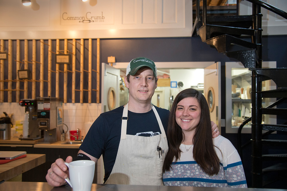 Owners of the Common Crumb Bakery