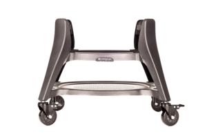 Stainless steel Kamado Joe rolling cart