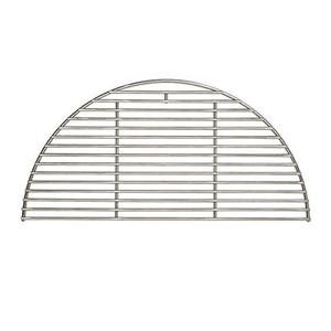 Large half-circle shaped wire cooking grate for Kamado Joe grill