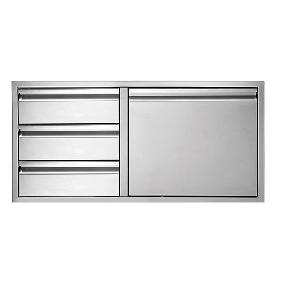 "36"" Twin Eagles 3-Drawer-Door Combo"