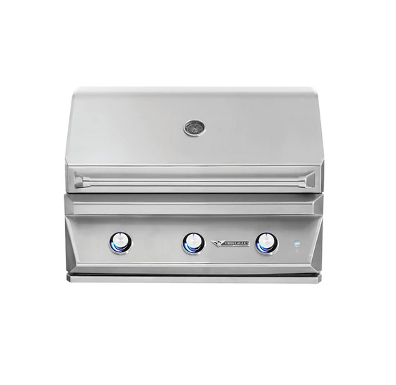 "36"" 3-Burner Built-In Natural Gas Grill"