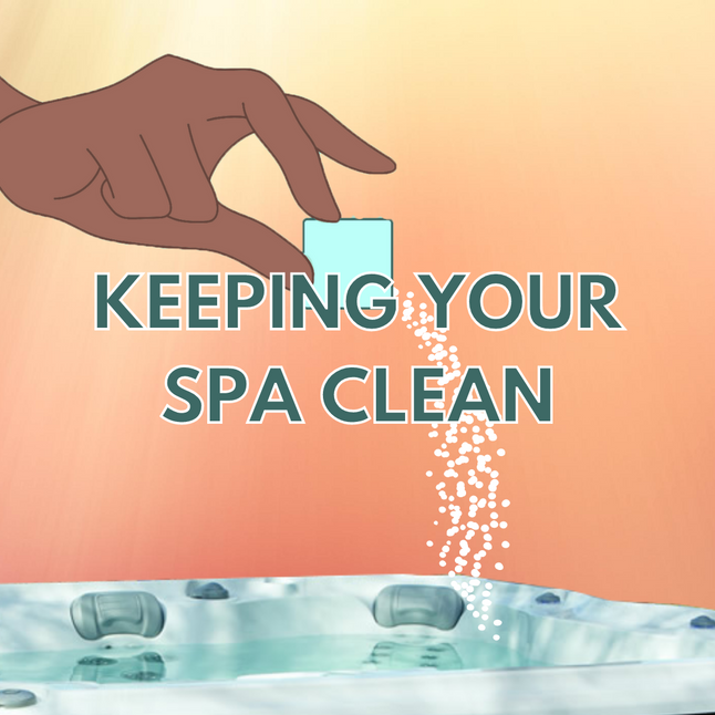 3 Ways to Keep Your Spa Clean
