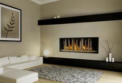 Davinci Custom Birch Fireplace
