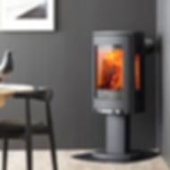 Black Lopi Wood Stove