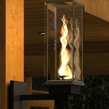 Single Tempest Torch Wall Sconce