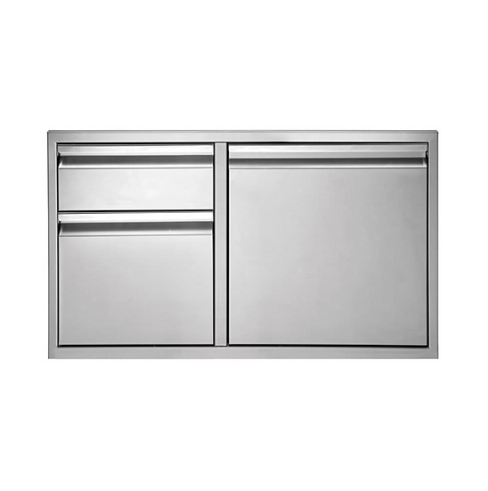 "36"" Twin Eagles 2-Drawer-Door Combo"